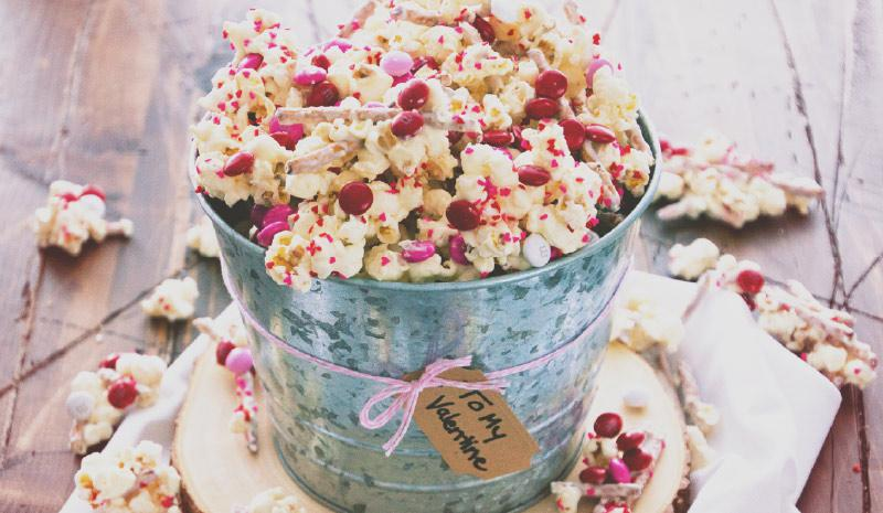 Disney Valentines Day Popcorn Mix