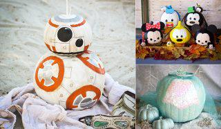 Disney Halloween Pumpkin Decorating DIY