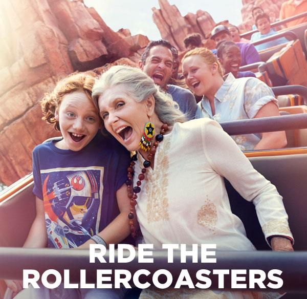 Ride the Rollercoasters
