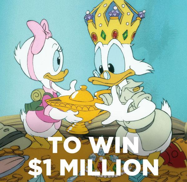 To win $1Million