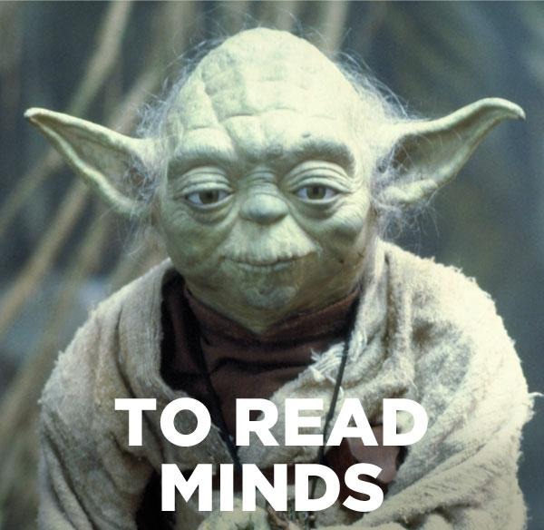To read minds