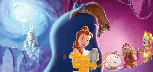 Disney Beauty and the Beast Banner