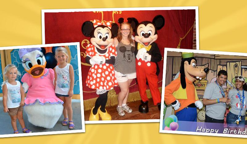 Disney Character Memories