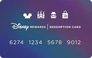 Disney Redemption Card Small