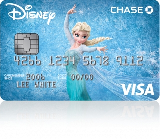 Disney Frozen Visa Card
