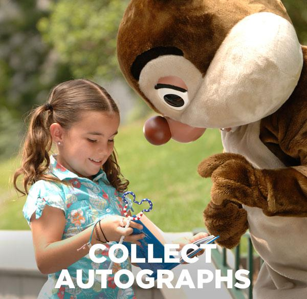 Collect autographs