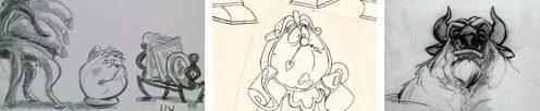 Disney Film Sketches