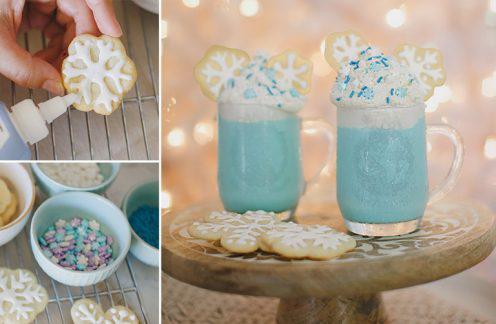 Disney Frozen Inspired DIY Hot Cocoa