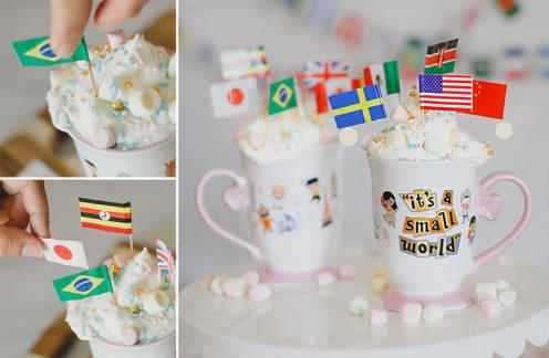 Disney Its a Small World Inspired DIY Hot Cocoa
