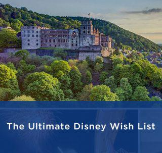 Disney Vacations Wish List