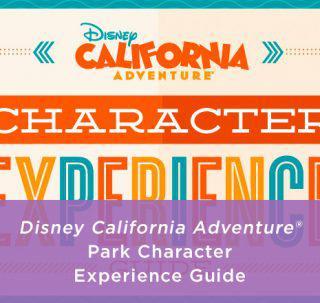 Disney California Character Experience