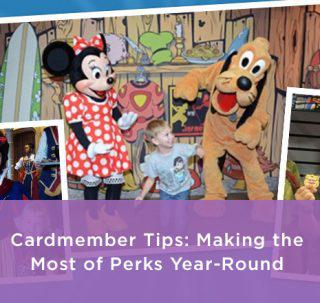 Disney Cardmember Tips