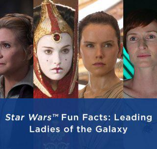 Star Wars Leading-Ladies Facts