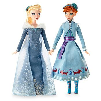 Disney Elsa & Anna Dolls
