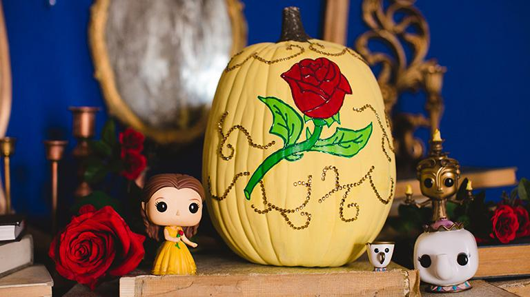 Belle Pumpkin DIY