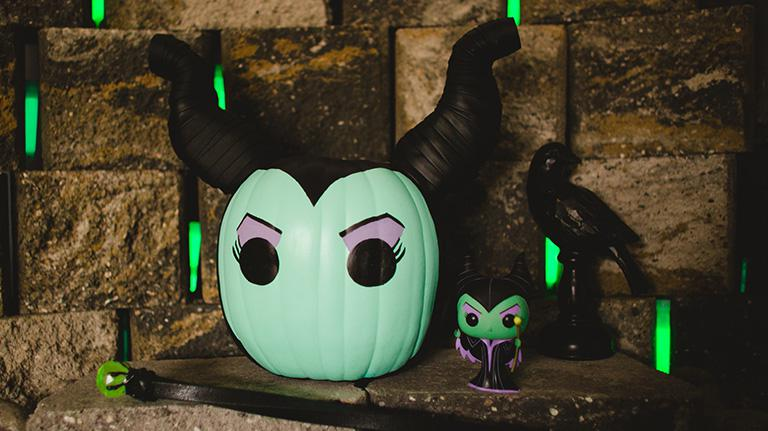 Maleficent Pumpkin DIY