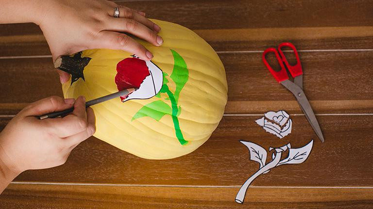 Disney Pumpkin DIY