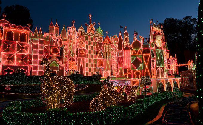 Disney Winter Wonder Land Its a Small World Lights