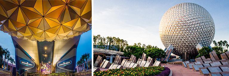 Disney Epcot Theme Park