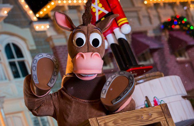 Toy Story Bullseye in Disney Parade