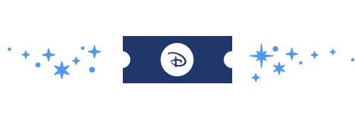 Disney Broadway Ticket Icon