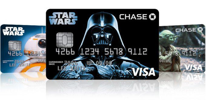 Disney Star Wars Credit Cards