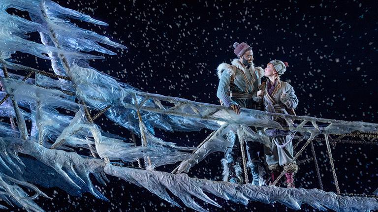 Frozen Anna on Broadway