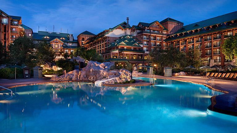 Disney Resort Boulder Ridge Pool