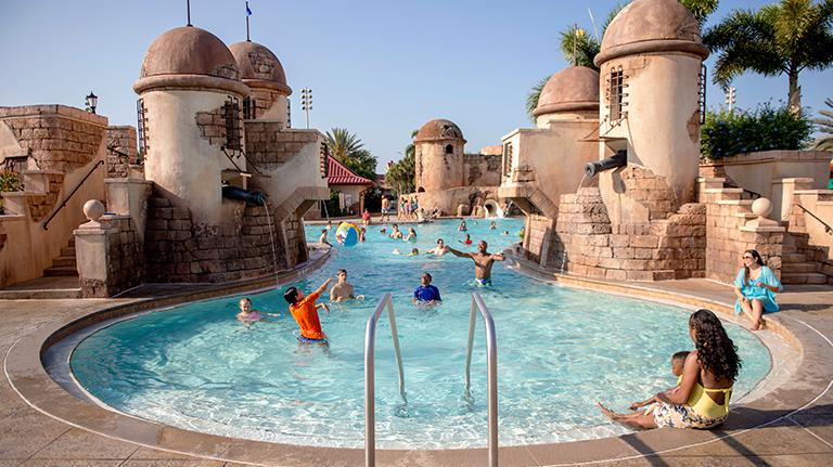 Diseny Resorts Fuentes del Morro Pool