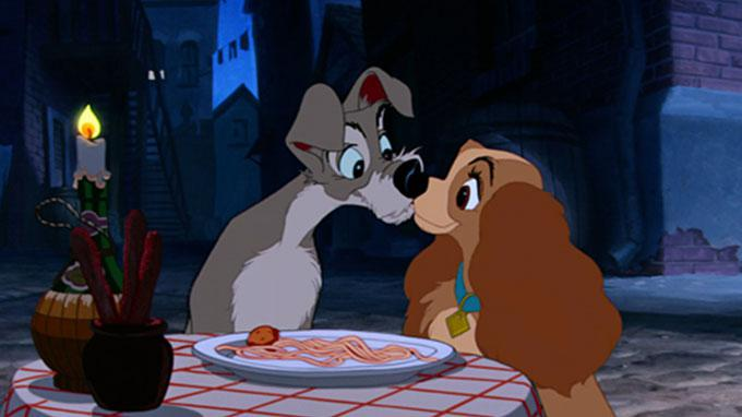 Dinsey Lady and the Tramp Dogs