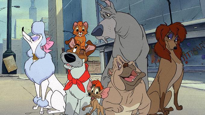 Disney Oliver the Dog