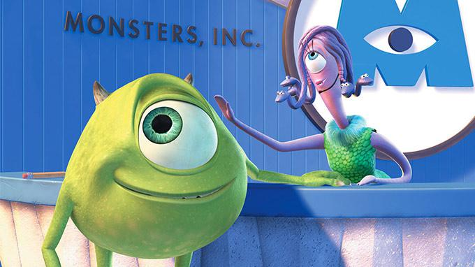 Disney Couples Monsters Inc