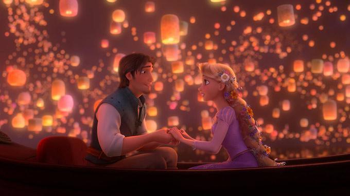 Disney Couples Rapunzel and Flynn