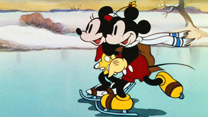Disney Couples Micky and Minnie Mouse