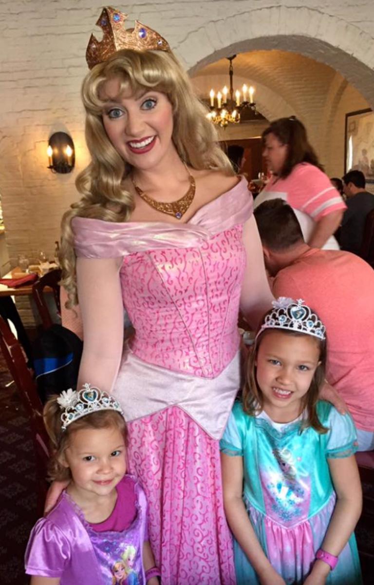 Disney Princess Breakfast with Sleeping Beauty