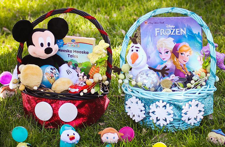 Disney Inspired Easter Baskets