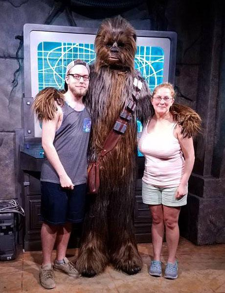 Chewbacca and friends