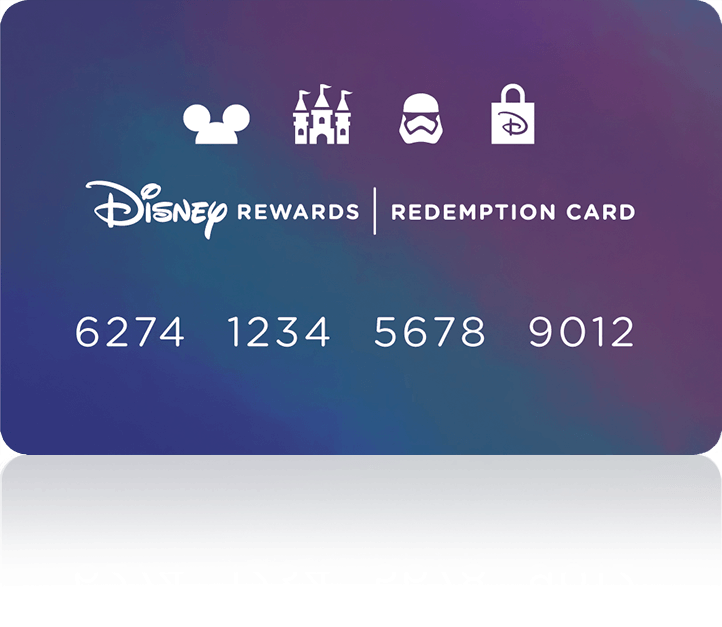 6afc5d420cc ... your favorite Disney experiences. . Redemption Card with shadow