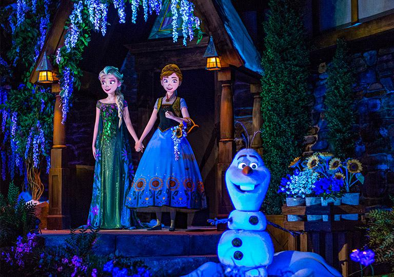 Frozen at Epcot
