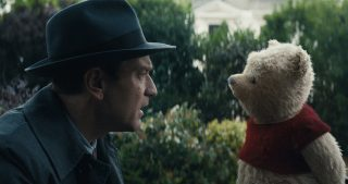 Christopher Robin with Winnie the Pooh