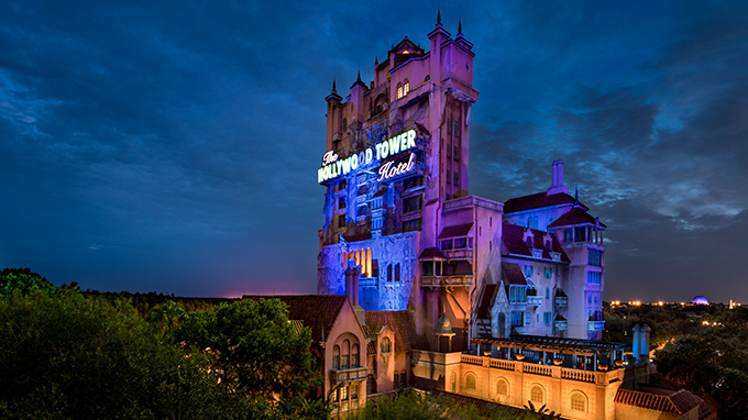 Disney Tower of Terror Night Halloween