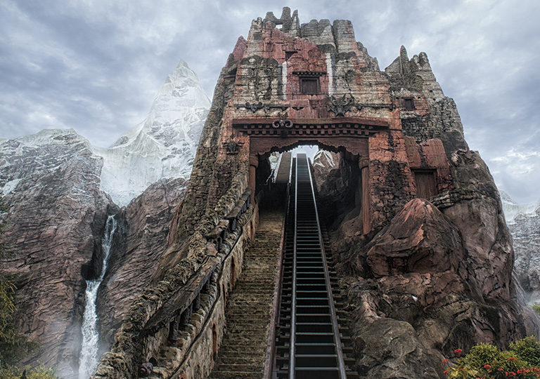 Expedition Everest attraction