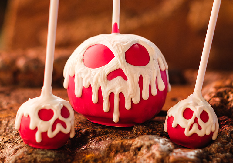 Disneyland Halloween Candied Apples