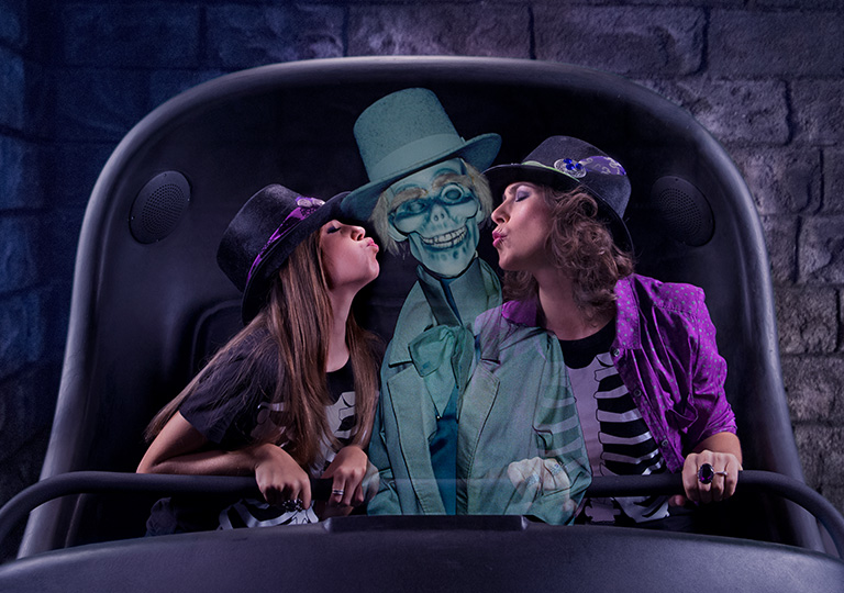 Haunted Mansion Disneyland Hitchhiking ghosts