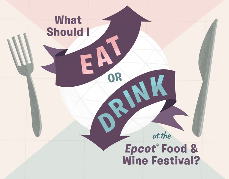 Epcot Food and Wine Decision Tree