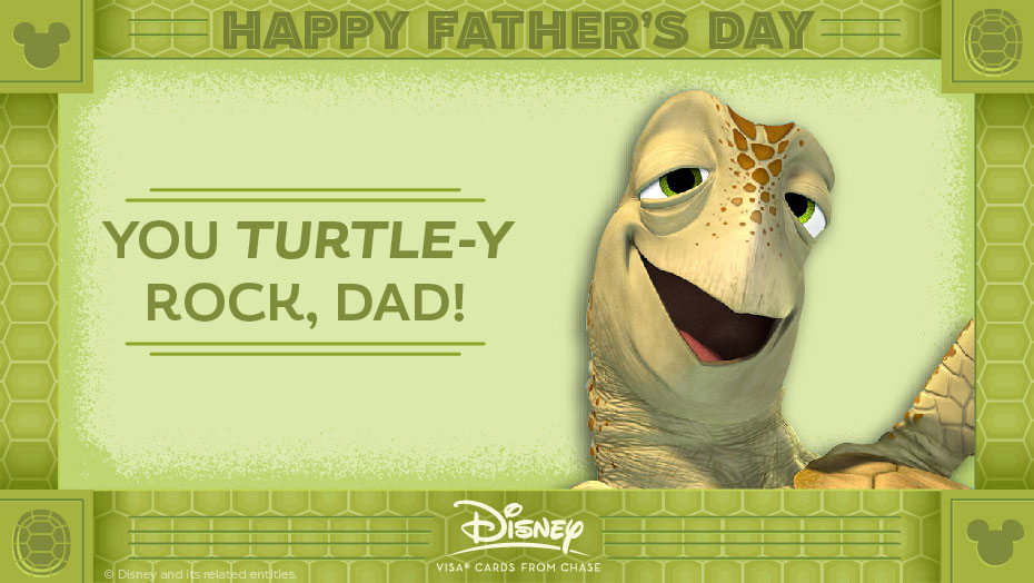 Disney Father Day Crush