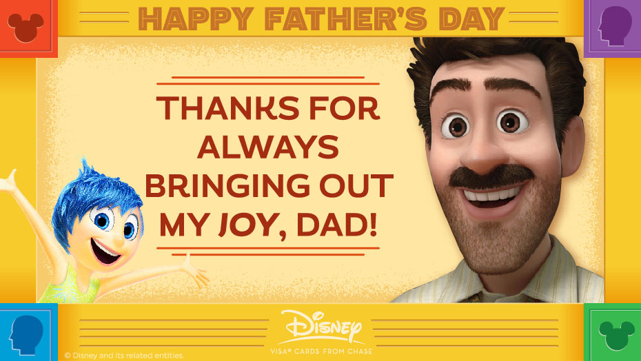 Disney Father Day Anderson