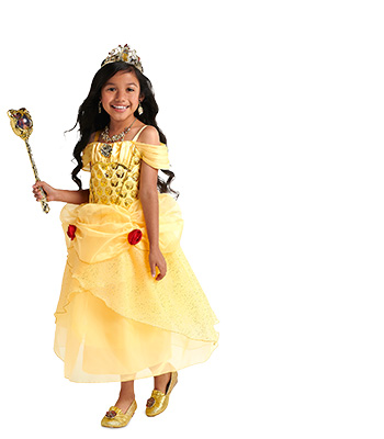 Beauty and the beast belle costume