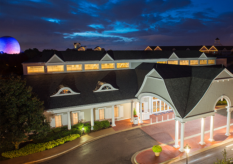Disney's Beach Club Resort close to Epcot for rundisney princess half marathon