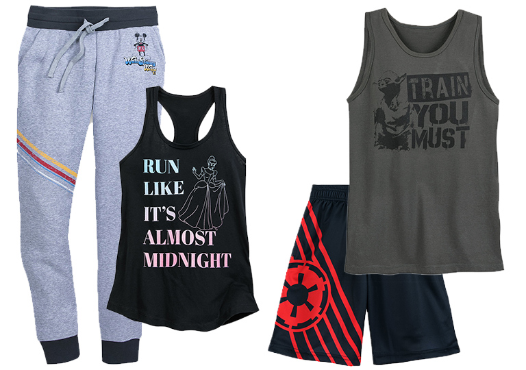 runDisney gear from shopDisney.com